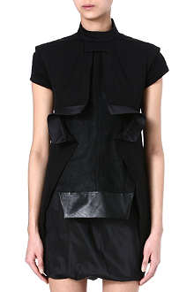 RICK OWENS Stretch-cotton top