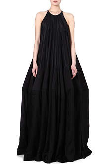 RICK OWENS Crinoline maxi dress