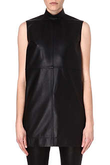 RICK OWENS Leather tunic