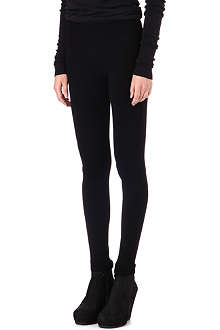 RICK OWENS Biker wool leggings