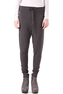 RICK OWENS Merino jogging bottoms