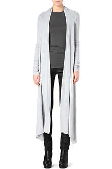 RICK OWENS Long merino wool shawl
