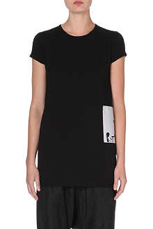 RICK OWENS Masters torch-patch t-shirt