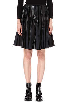 SACAI Knee-length pleated skirt