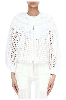 SACAI Lattice jacket