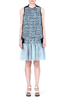 SACAI Woven cotton dress