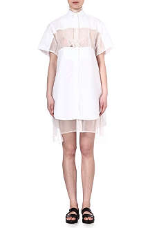 SACAI Short sleeved shirtdress