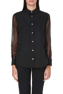 SACAI Pleated-back shirt