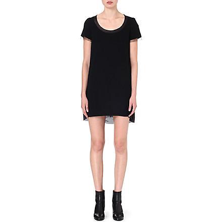 SACAI Long t-shirt dress (Black