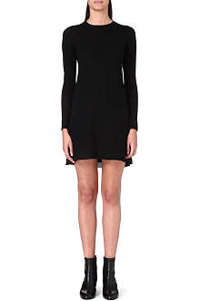 SACAI Contrast insert dress