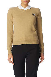 PLAY V-neck jumper