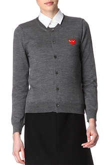 PLAY Crew-neck cardigan