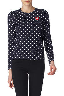 PLAY Polka-dot top