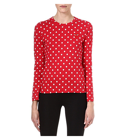 PLAY Polka-dot top (Red