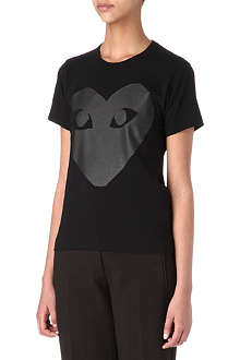 COMME DES GARCONS PLAY Big heart t-shirt