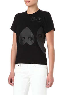COMME DES GARCONS PLAY Upside down heart t-shirt