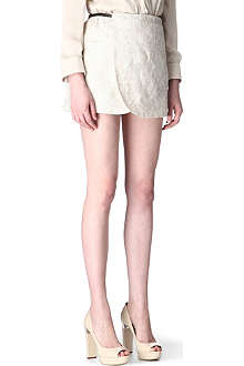 A.F.VANDEVORST Sequence embroidered skirt