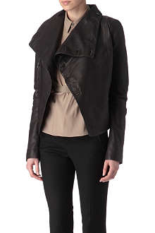 A.F.VANDEVORST Vault leather jacket