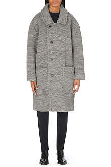 A.F.VANDEVORST Moderate oversized wool-blend coat