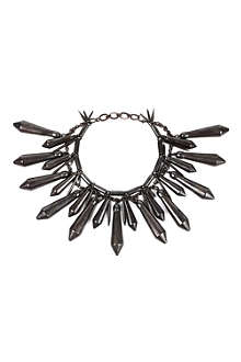 A.F.VANDEVORST Large spike necklace
