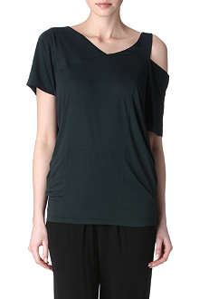 A.F.VANDEVORST Open-shoulder t-shirt