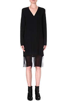 DAMIR DOMA Layered crepe dress