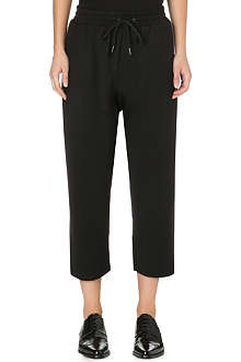 DAMIR DOMA Cropped stretch-crepe trousers