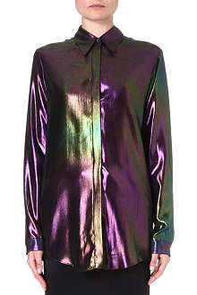DAMIR DOMA Metallic silk shirt