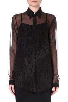 DAMIR DOMA Sheer silk shirt
