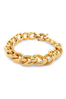 TOM BINNS Delon 24ct gold-plated bracelet