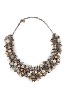 TOM BINNS Punk chic necklace