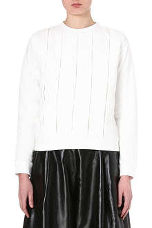 JW ANDERSON Pintucked sweatshirt