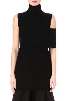 JW ANDERSON Banded knit dress