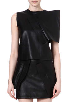 JW ANDERSON Leather wrap top