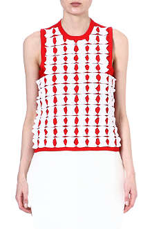 JW ANDERSON Geometric knit top