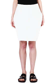 JW ANDERSON Dropped-hem silk-blend skirt