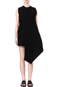 JW ANDERSON Angled silk-blend dress