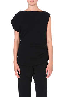 JW ANDERSON Asymmetric knitted wool top