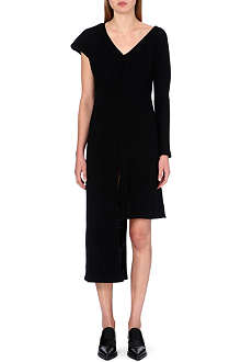 JW ANDERSON Asymmetric ribbed wool dress