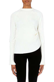 JW ANDERSON Ribbed wool jumper