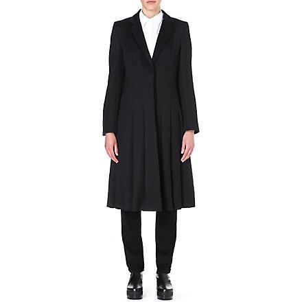 JW ANDERSON Multi-seam wool coat (Black