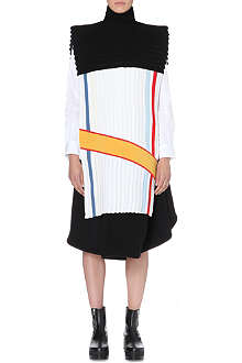 JW ANDERSON Colour-block sleeveless bib top