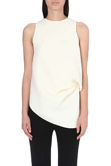 JW ANDERSON Crepe-finish sleeveless top