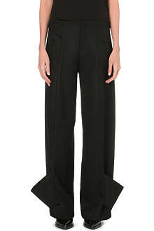 JW ANDERSON Wide wool trousers