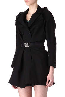 UNDERCOVER Buckle detail coat