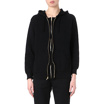 UNDERCOVER Double-zip hoody (Black