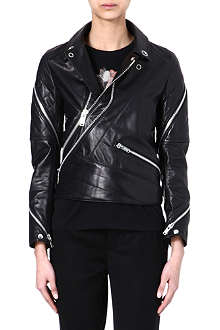 UNDERCOVER Biker leather jacket