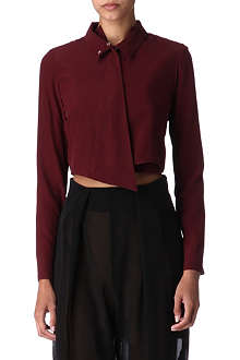 THIERRY MUGLER Cropped shirt