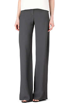 THIERRY MUGLER Wide leg trousers