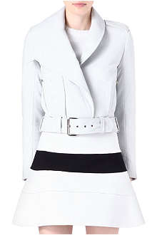 THIERRY MUGLER Nappa leather biker jacket